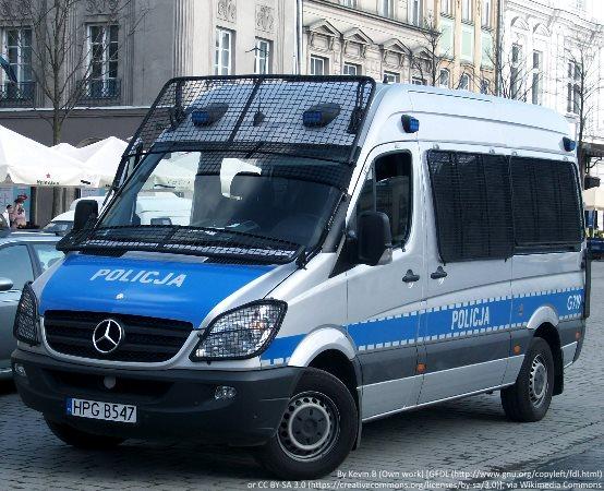 Policja Inowrocław: Oddawali krew i zapoznawali się z działaniem KMZB