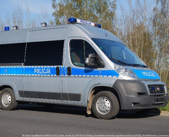 Policja Inowrocław: Na szczęście zdradził go odgłos tłumika